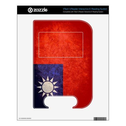 Taiwan Flag; Taiwanese; 台灣 VTech V.Reader Skin
