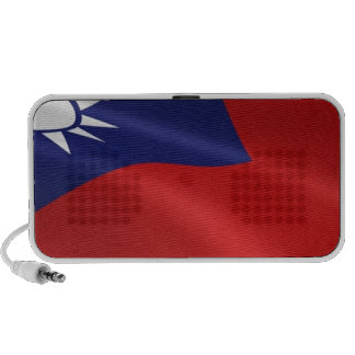 TAIWAN FLAG TRAVEL SPEAKERS