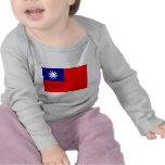 Taiwan Flag Tshirts