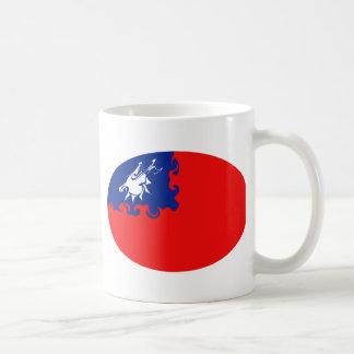 Taiwan Gnarly Flag Mug