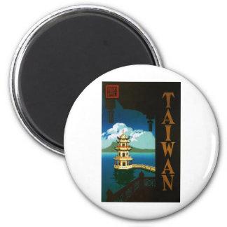 Taiwán Imán Redondo 5 Cm