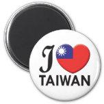Taiwan Love Magnets