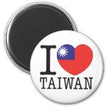 Taiwan Love v2 Refrigerator Magnets