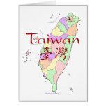 Taiwan Map Card