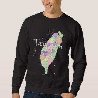 Taiwan Map Sweatshirt