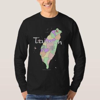 Taiwan Map Tee Shirt