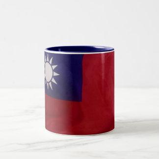 Taiwan -Mug- Two-Tone Coffee Mug