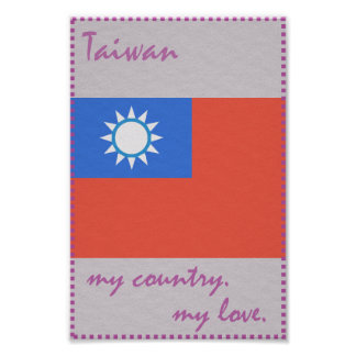 Taiwan My Country My Love Poster