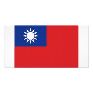 Taiwan National Flag Photo Card