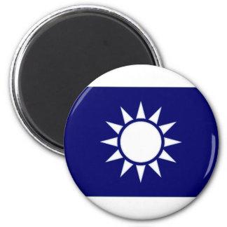 Taiwan Naval Jack Fridge Magnets