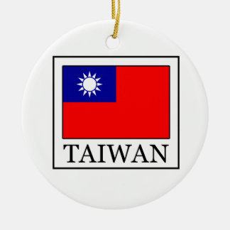 Taiwan ornament