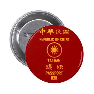 Taiwan Passport Pins