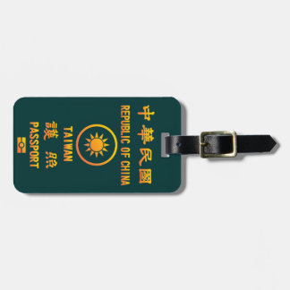 Taiwan Passport Tag For Luggage