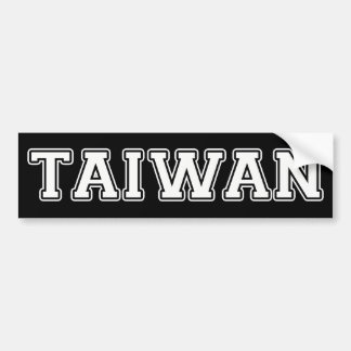 Taiwán Pegatina Para Auto
