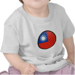 Taiwan quality Flag Circle Tshirt