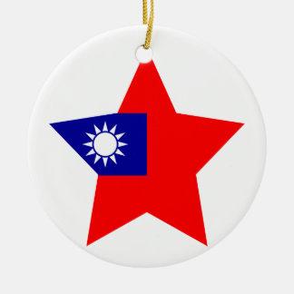 Taiwan Star Ceramic Ornament