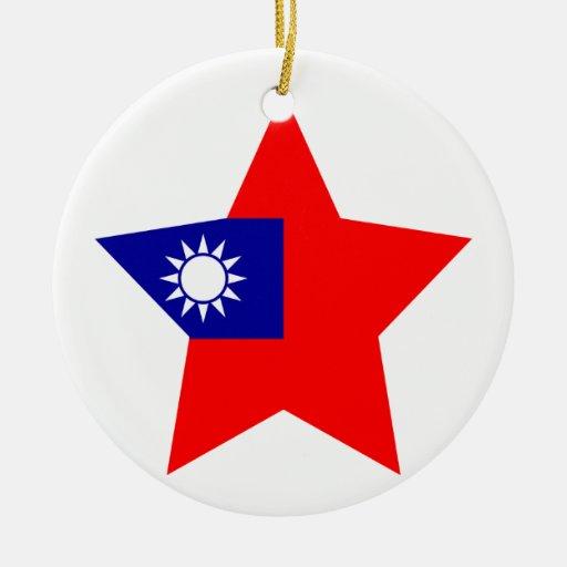 Taiwan Star Christmas Tree Ornament