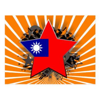 Taiwan Star Postcard