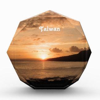 Taiwan Sunset Acrylic Award
