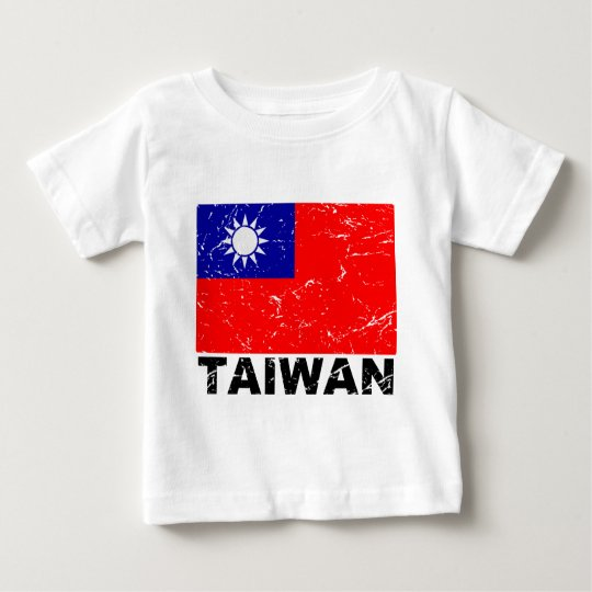 Taiwan Vintage Flag Baby T-Shirt