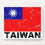 Taiwan Vintage Flag Mousepads