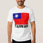 Taiwan Vintage Flag Tee Shirt