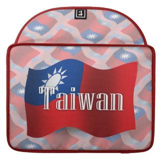 Taiwan Waving Flag Sleeve For MacBook Pro