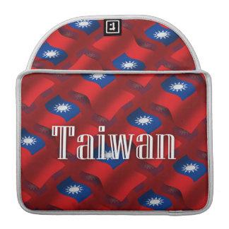 Taiwan Waving Flag Sleeves For MacBooks