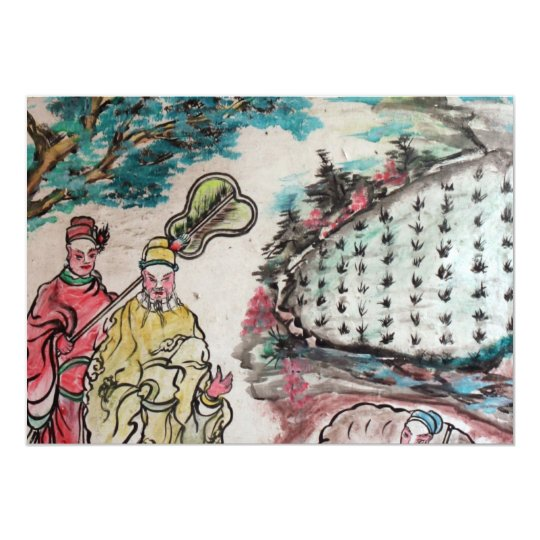 Taiwanese art card