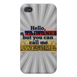 Taiwanese, but call me Awesome Cover For iPhone 4
