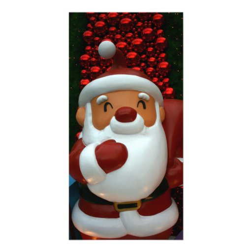 Taiwanese Father Christmas Photo Card Template