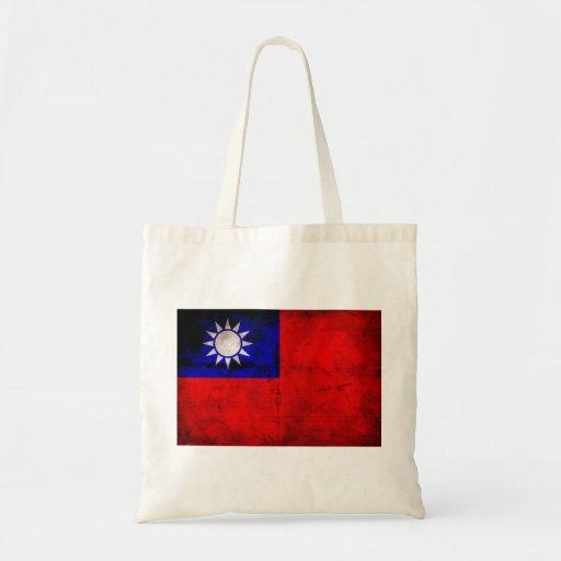 Taiwanese Flag Canvas Bag