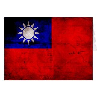 Taiwanese Flag Card