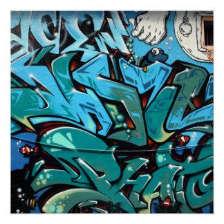 Taiwanese graffiti poster
