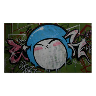 Taiwanese graffiti, Taipei, Taiwan Double-Sided Standard Business Cards (Pack Of 100)