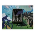 Taiwanese graffiti, Taipei, Taiwan Postcards