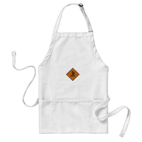 Taiwanese Worker Sign Adult Apron