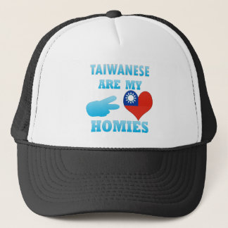 Taiwaneses are my Homies Trucker Hat