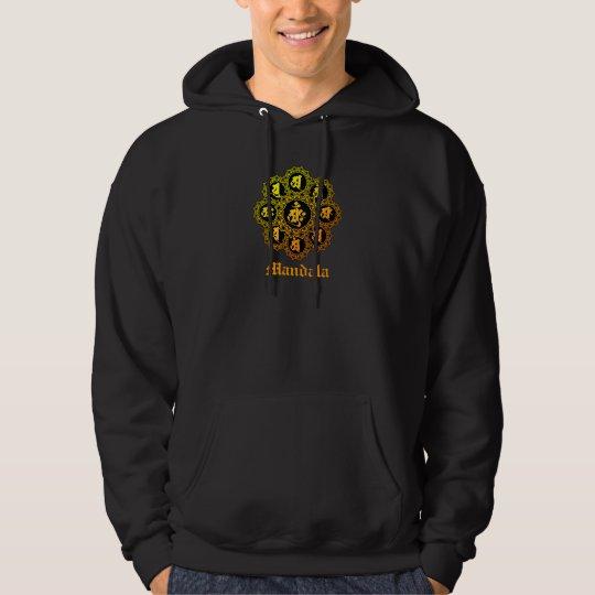 taizo mandala tiger hoodie