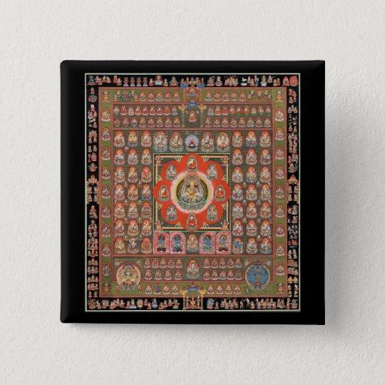 Taizokai Mandala Button