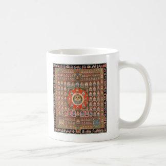 Taizokai Mandala Classic White Coffee Mug