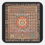 Taizokai Mandala Square Sticker