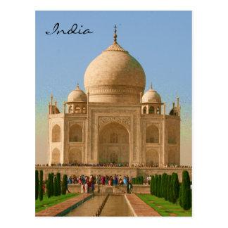 taj bright india post cards