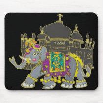 Taj Elephant Mouse Pad