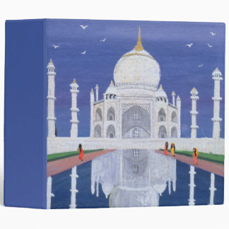 Taj Mahal 1995 3 Ring Binder