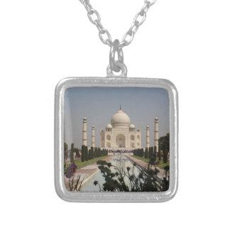 Taj Mahal 2 Square Pendant Necklace