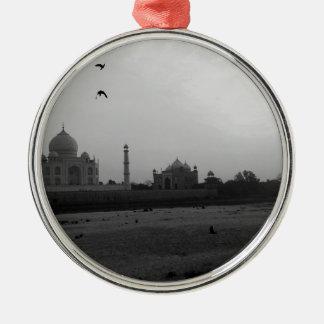 Taj Mahal 5 Metal Ornament