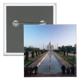 Taj Mahal 7 2 Inch Square Button