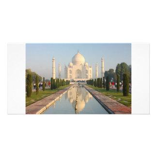 Taj mahal , A famous historical monument Card