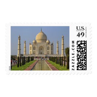 Taj Mahal, a mausoleum located in Agra, India, 2 Postage